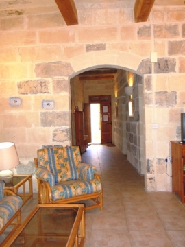 GUNO holiday house entrance hallway