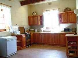 GHANNEJ holiday villa kitchen