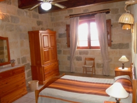Other side of GUNO holiday house double bedroom